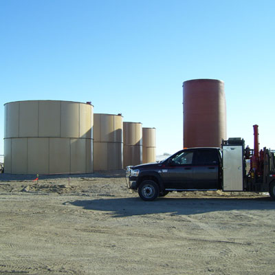 Facility Truck Silos
