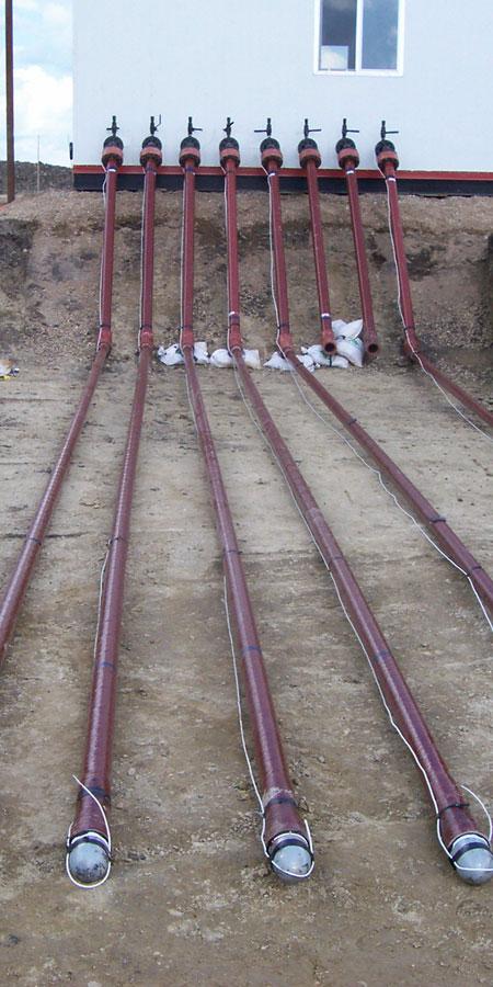 Flowline pipes